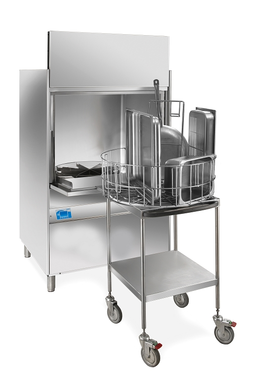 KROMO GR300 - Granule Pot Washer Trolley Display