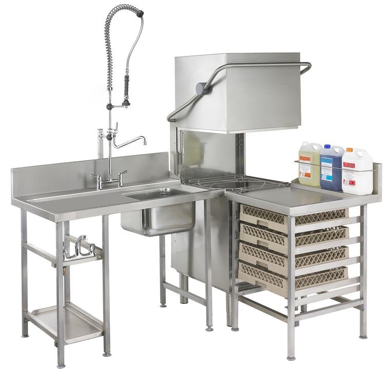 Dishwasher Tables & Sinks